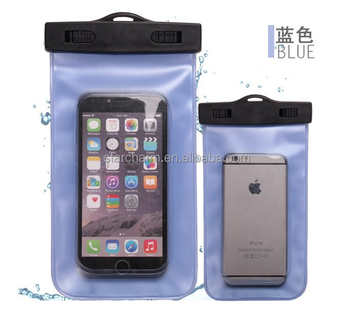 Universal mobile phone pvc waterproof cover case for different cell phones ,for IPhone waterproof cell phone case