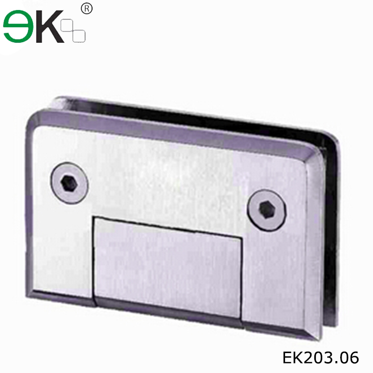 Stainless steel 180 degree heavy duty glass shower door hinge