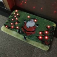 HS008 Door Floor Music Musical Sound Sensor LED Light Carpets