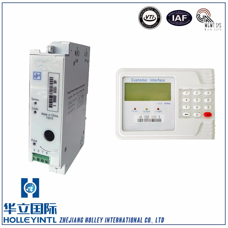 Apply In Hospitals Electronic Energy Meter Module Single Phase