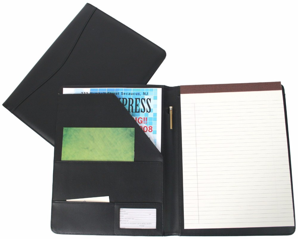 c21331a5af0 Padfolio Presentation Folder Business Case with Inserted Note Pad and  Folder for Documents Royce Leather Writing Portfolio