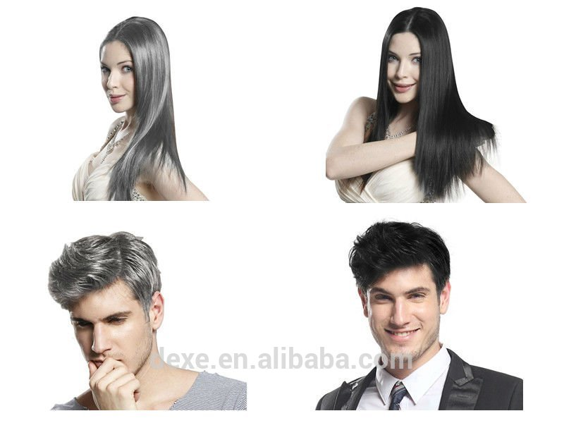 Magic Black Hair Color Shampoo Hair Dye Black Colour Shampoo ...