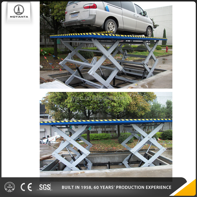 Skyscraping Tower/Mo Tian Ta Brand Stationary Scissor Car Lift Platform Hydraulic