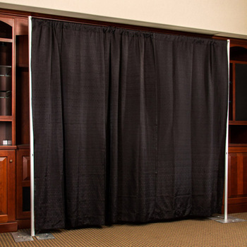 Wholesale Pipe And Drape Black Curtain Stage Backdrop