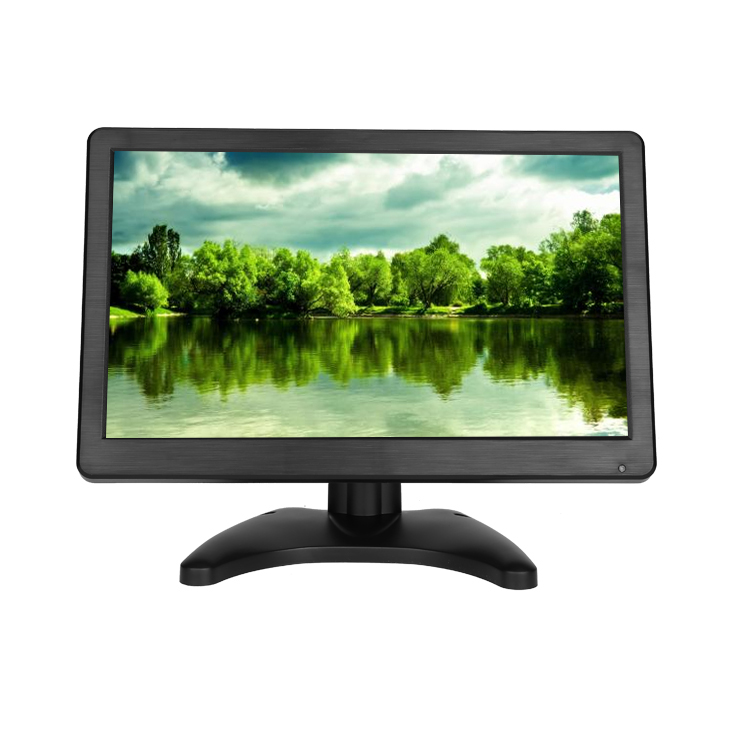 Beste resolutie 1920*1080 12 inch breedbeeld touch screen monitor met 4 wire resistive touch screen
