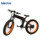 26' 48V 500W Assist Folding Electric Bicycle Fat Tire Beach Snow Bike