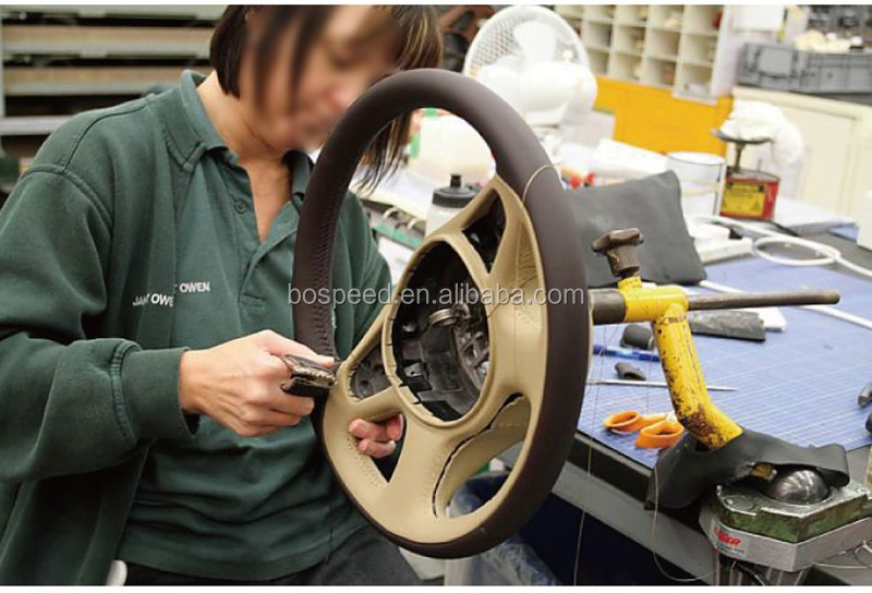 Carbon Fiber Steering Wheel For Jaguar Xk Xf F-type S-type