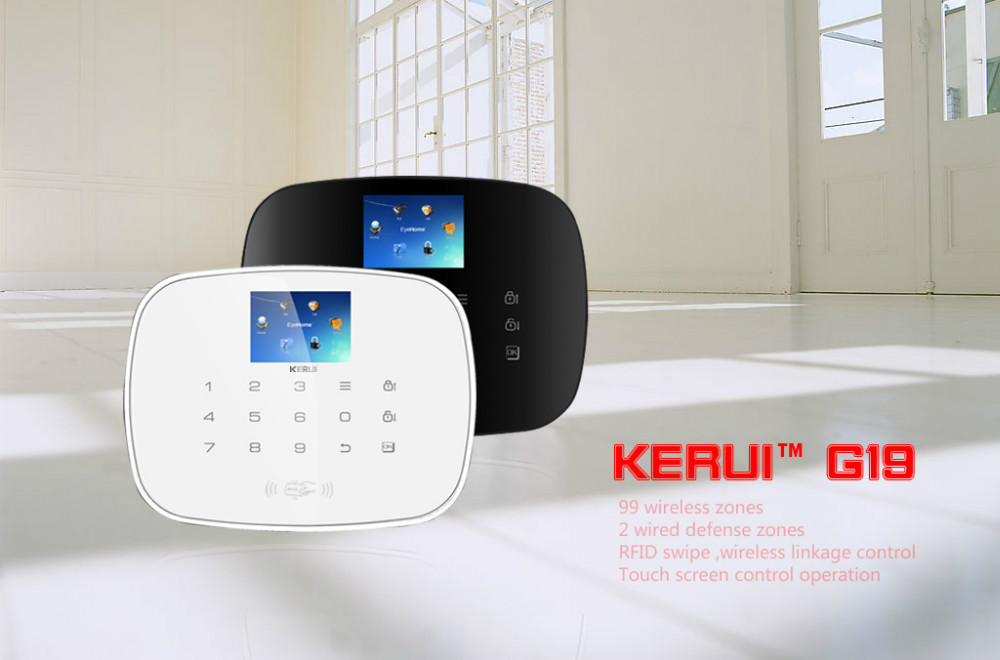 Gsm Intelligent Low Air Pressure Alarm With Touch Keypad Kr-g19 ...