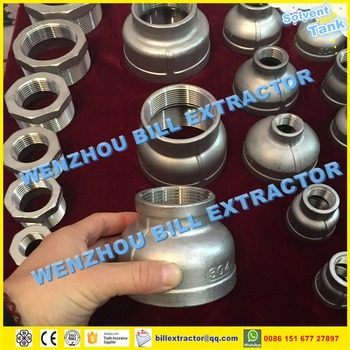 Stainless Steel Ss304/ss316 Bsp/bspt/bspp/npt Threaded Concentric Reducer  Of Pipe Fittings - Buy Stainless Steel Threaded Tee,Stainless Steel  Threaded