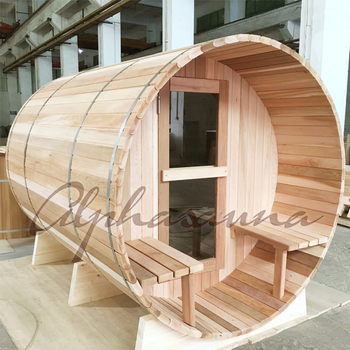 Good Quality Outdoor Sauna Room DIY Cabin For 4 6 Persons With Harvia