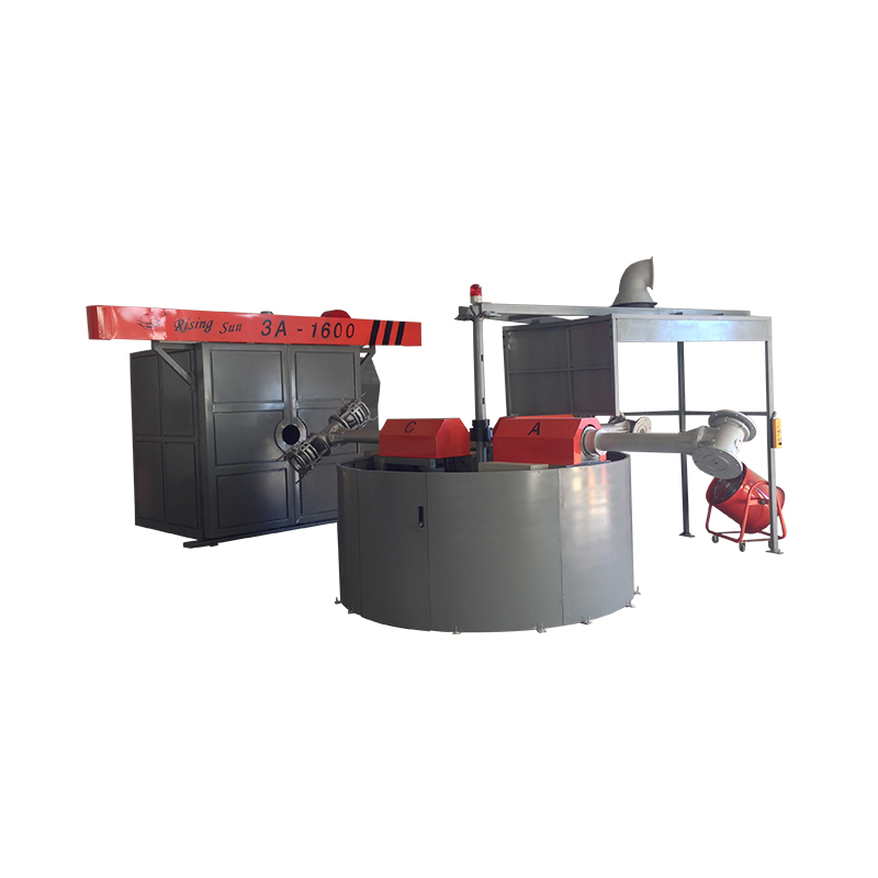 Plastic Producten Rotomolding Machine In China