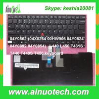 Laptop Parts for Lenovo laptop keyboard L440 L450 T431S T440 T440S T450 X240 G570 G580 T410 T420 X230 notebook internal keyboard