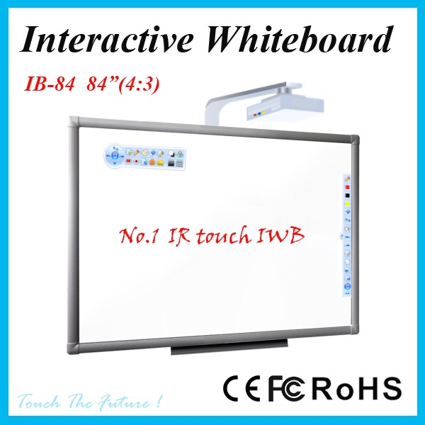Iboard 84 Inch 4:3 Interactive Whiteboard Without Hotkeys Ceramic ...