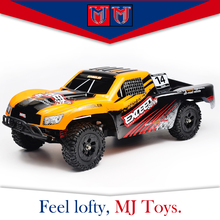 2.4G 1:16 plastic 4wd high speed racing rc car toy model for kids