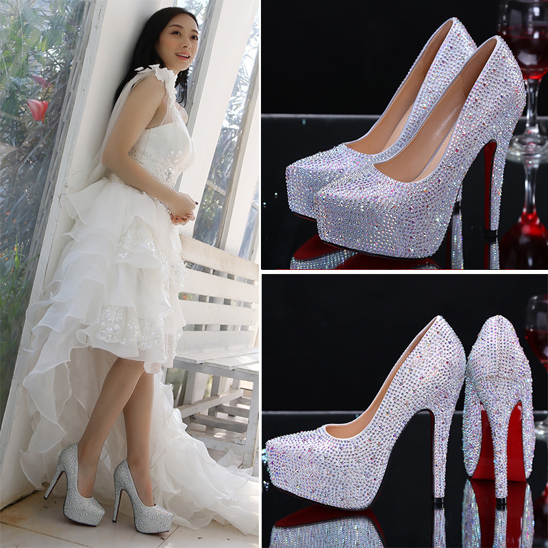 quality wedding bride high women shoes High ZH756B heel dinner SRggqp