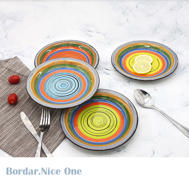 2018 Newly Hand Painted Ceramic Plate Colored Ceramic Souvenir Dinner Plates  sc 1 st  Alibaba & Buy Cheap China ceramic color plate Products Find China ceramic ...