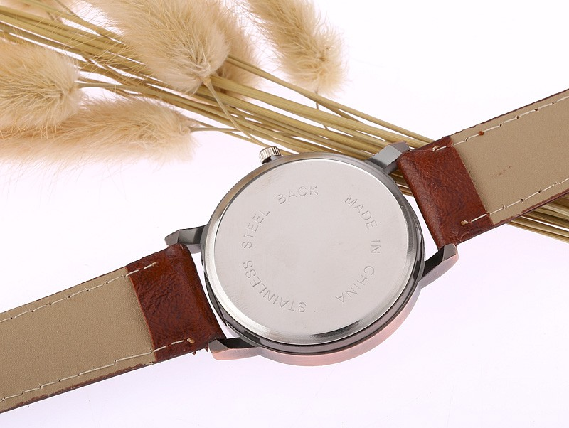 Generous leather watchband collocation world map background with generous leather watchband collocation world map background with black arabia digital intellectual pointer watch gumiabroncs Choice Image