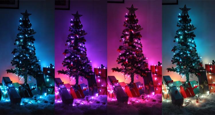 programmable led christmas lights rgb color changing led christmas. Black Bedroom Furniture Sets. Home Design Ideas