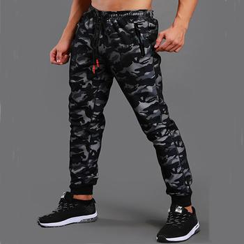 Men S Winter Jogging Trousers High Waist Sweatpants Sport Cam Pants
