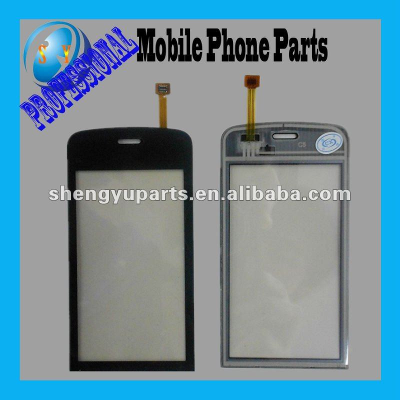 hotsale Screen touch for Nokia C5 cell phone touch screen