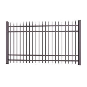 Cast iron / wrought iron fence posts metal fence