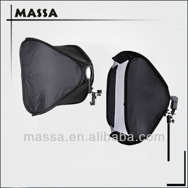 "50cm/20"" photography lighting Easy folded camera speedlite softbox"