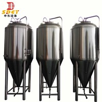 100l 6000l Jacketed Beer Fermentation Tank beer brewing equipment for sale