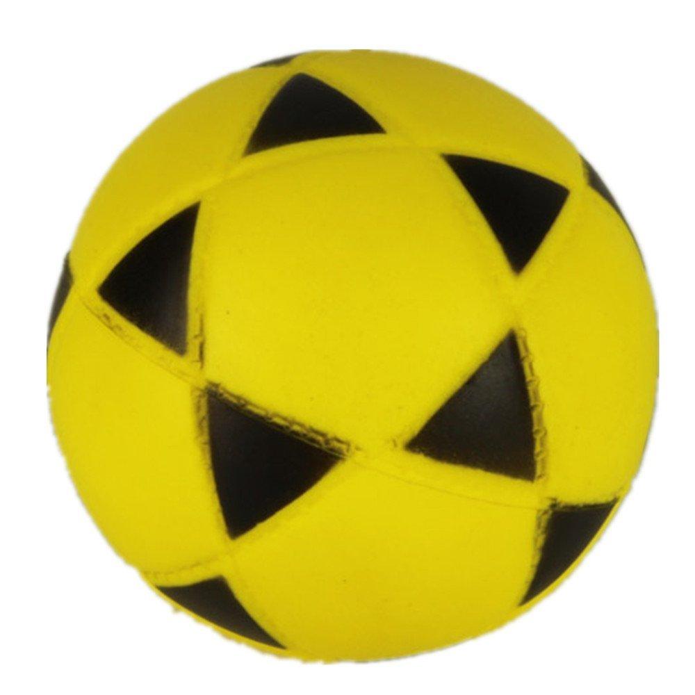 Aamina Toy Cubby Realistic Foam Sports Ball - 1 Piece(Fottball)Yellow