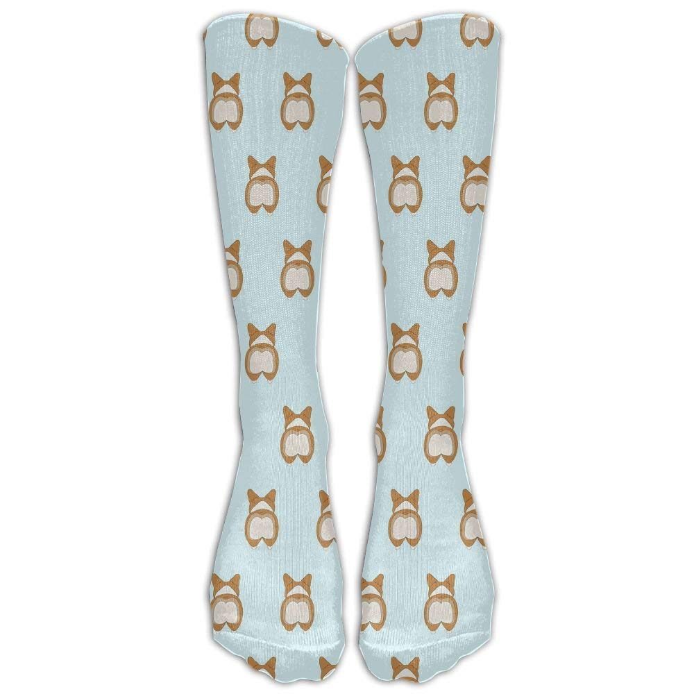 ca1b54ca14e Get Quotations · Cute Corgi Crew Socks Casual Socks Crazy Socks Compression  Socks Crazy Socks High Socks For Running