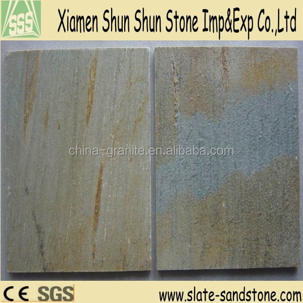 Chinese cheap rusty slate tile for indoor and outdoor paving