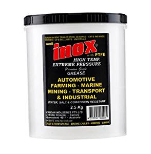 MX8 Inox High Temp Extreme Pressure Grease with PTFE - 2.5kg (4.4lbs) Tub