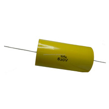Axial CL20 Metallized Polyester Film Capacitors for power supplier