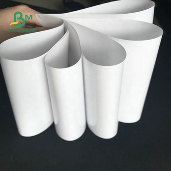 Waterproof  80gsm 85gsm 90gsm 95gsm One Side Coated Glossy Art Paper In Sheet For Printing
