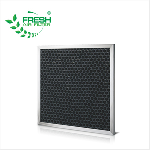 Replacement washable nylon mesh panel air pre filters carbon activated air filter