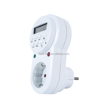 7 Day Countdown Electrical Switches Shower Digital Counter Timer