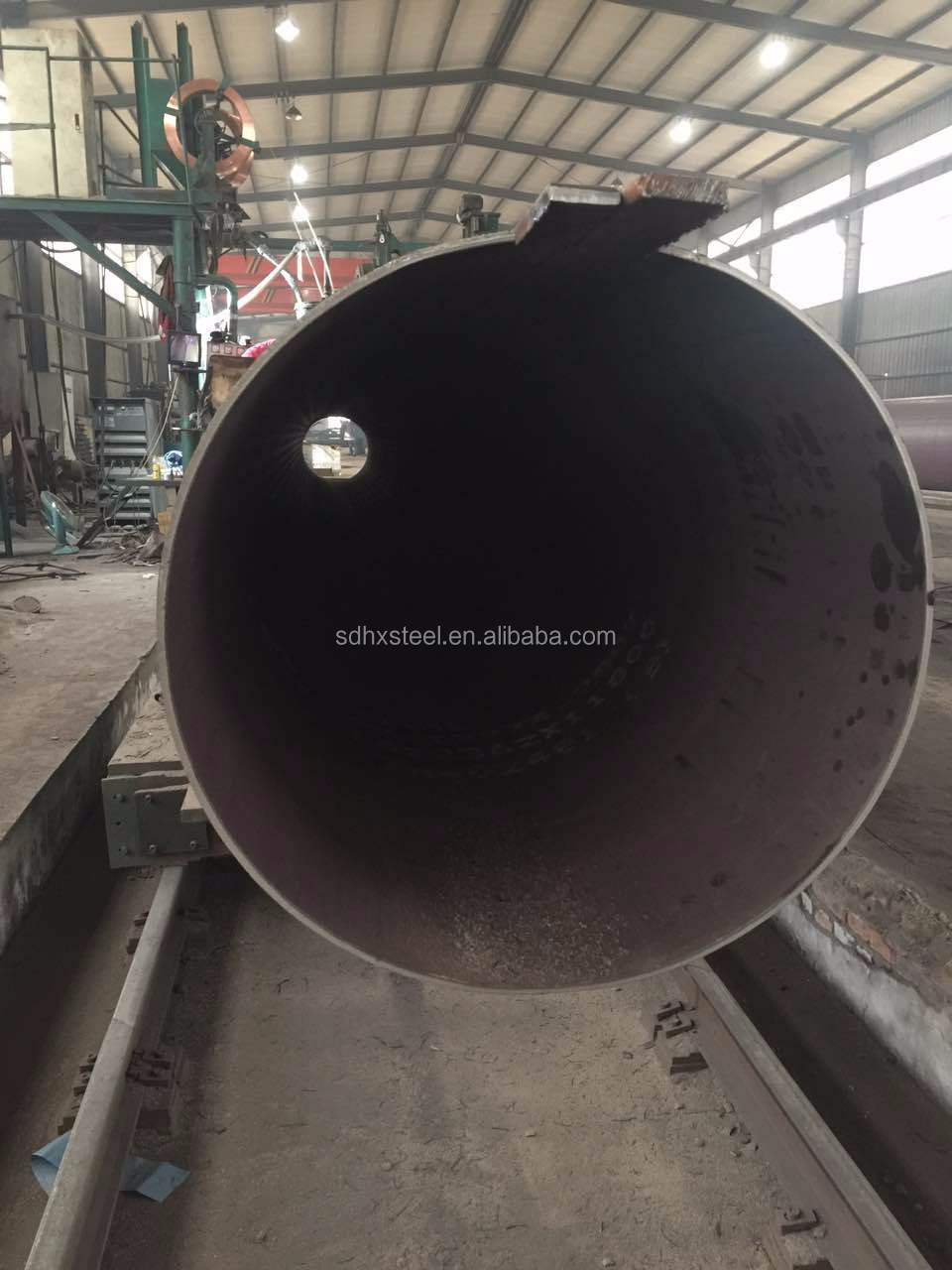 China Manufacturer API 5L, ASTM A53 exw big diameter SSAW carbon welded steel pipe and tubes with best price