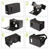 Easy to operate and cheap price google cardboard 2.0 3D glasses