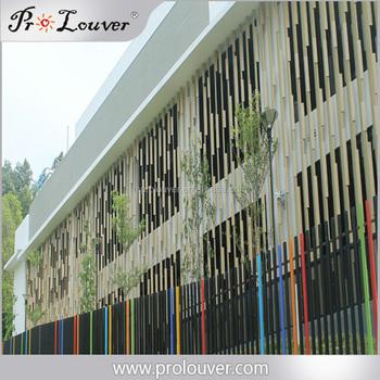 Architectural Decorative Aluminum Wall Box Sun Louver