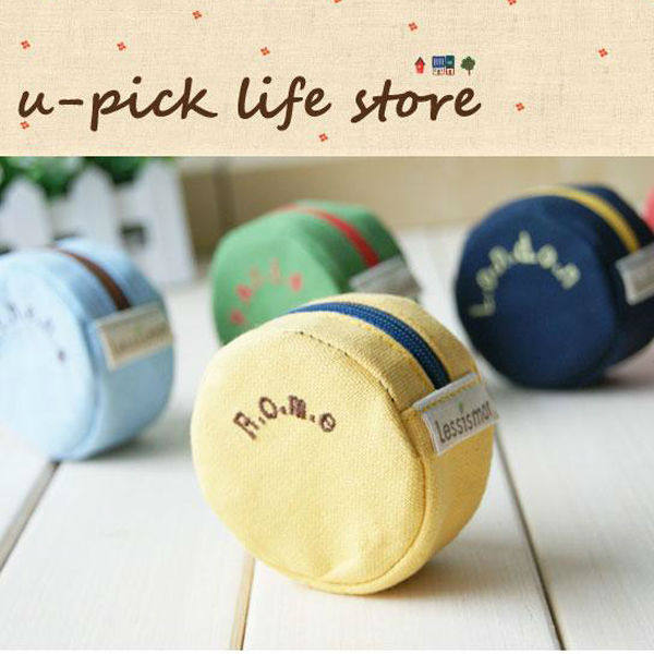 WP118 Reshine Lovely Small Canvas Pouch Bags Phone for Girls Fashion Earphone Bag