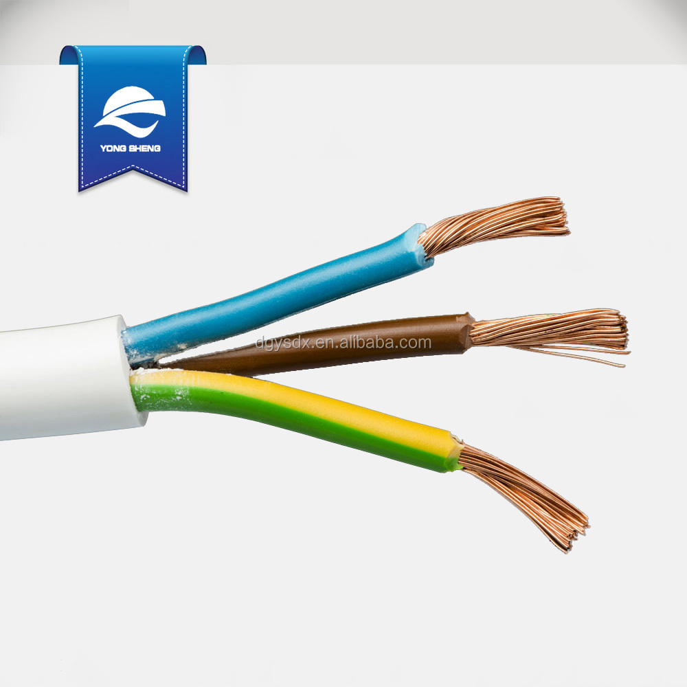 H05vv-f 3*0.75mm2 Outdoor Power Cable With Pvc Insulation - Buy ...