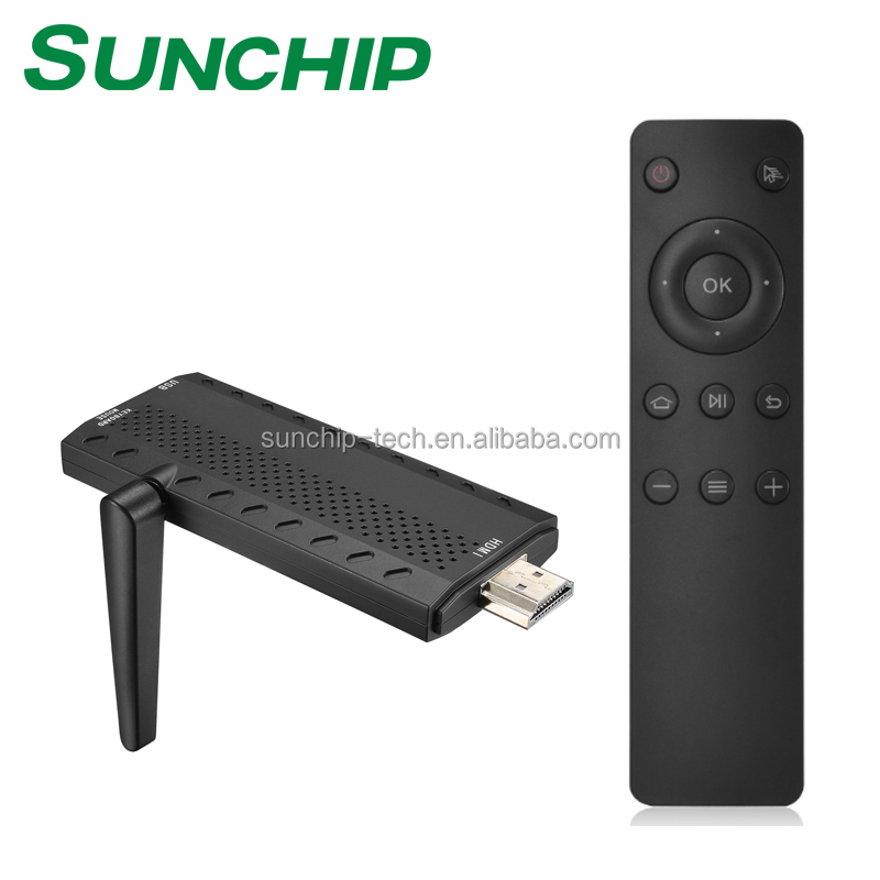 Sunchip Set Top <strong>Box</strong> Rockchip Qcta Core <strong>TV</strong> <strong>BOX</strong> firmware 1+8gb android 6.0 <strong>tv</strong> <strong>Dongle</strong>