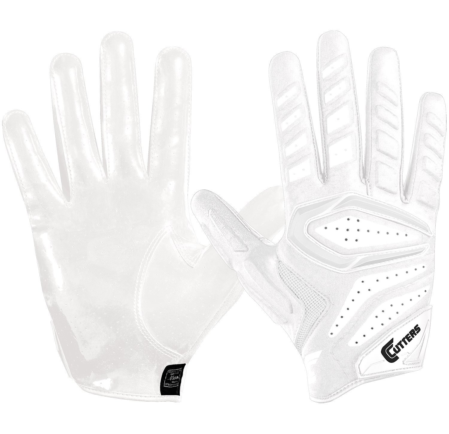Cutters Gloves R 2 0 Padded Receiver Royal Medium