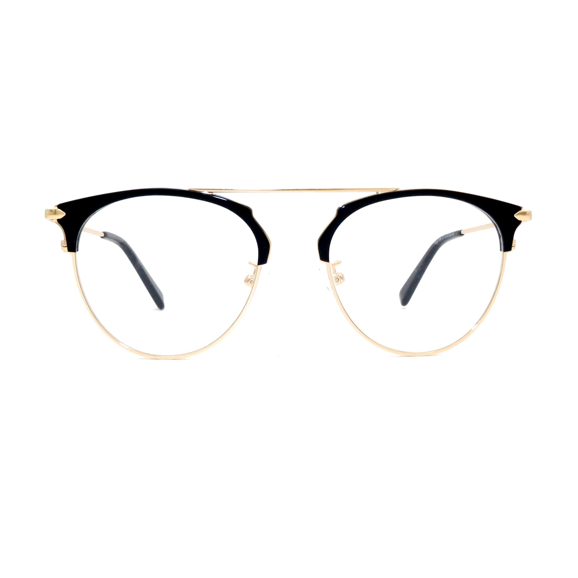 New model fashion designer retro acetate metal eye glass optical eyewear eyeglass frame in stock NO MOQ factory wholesale