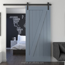 cheap wood barn door hardware hinges fitting for interior