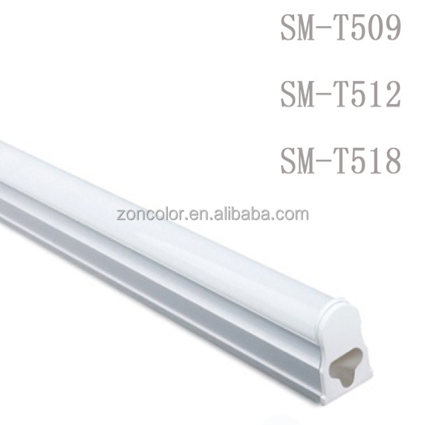 High efficiency 900-2300lm led tube fixture 9W to 22W led tube lights amazon T5 T8 for pvc stretch ceiling