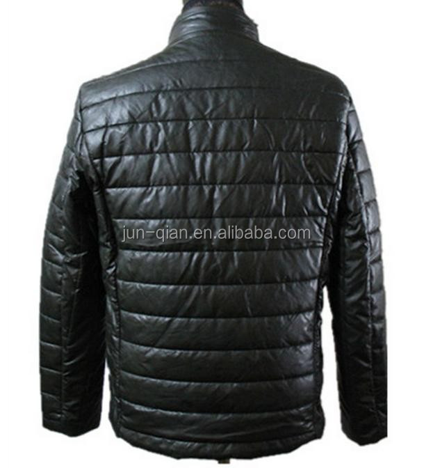 hot sale lady leather jacket with fur collar lamb skin leahter jacket washing jackets