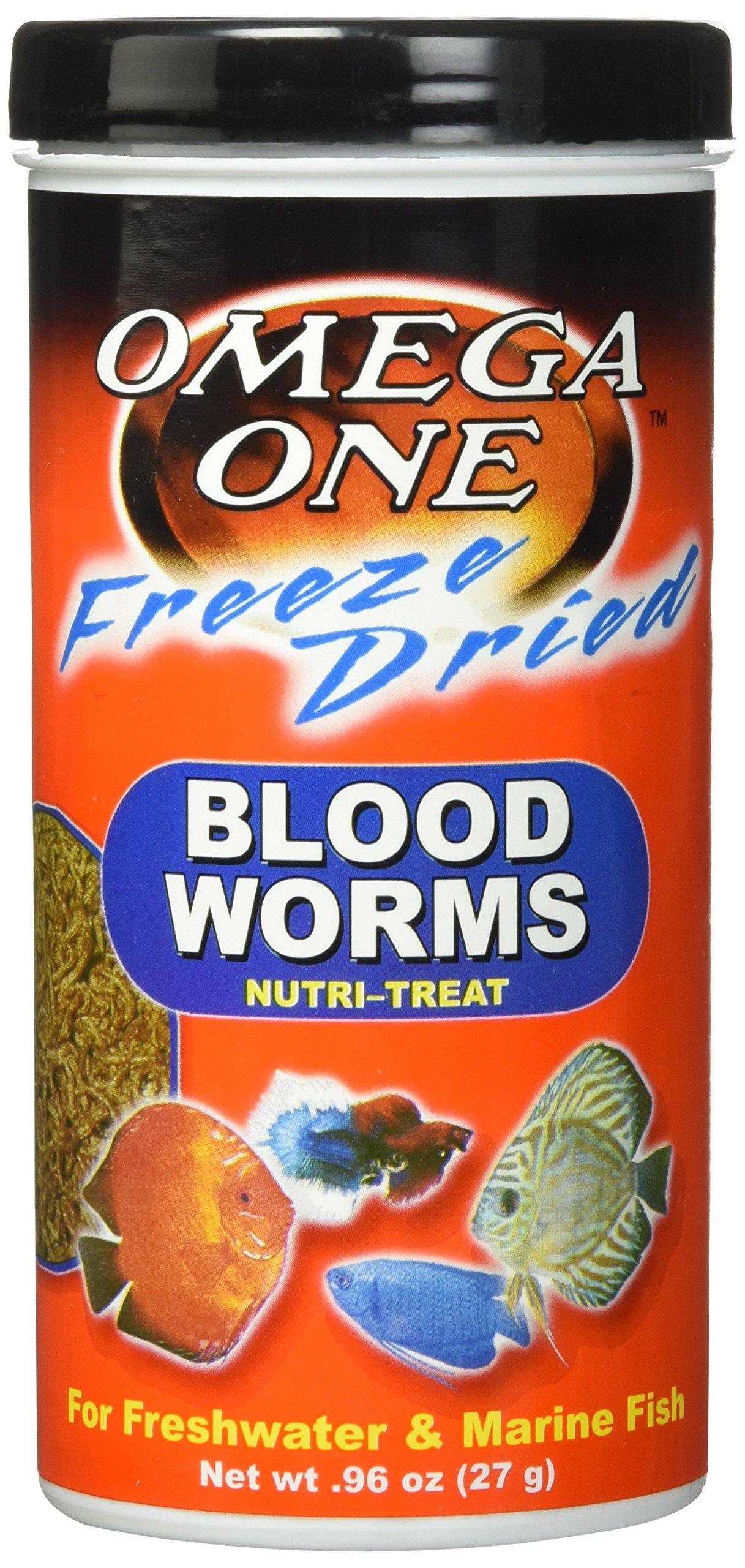 Freeze Dried Blood Worms 0.96oz.