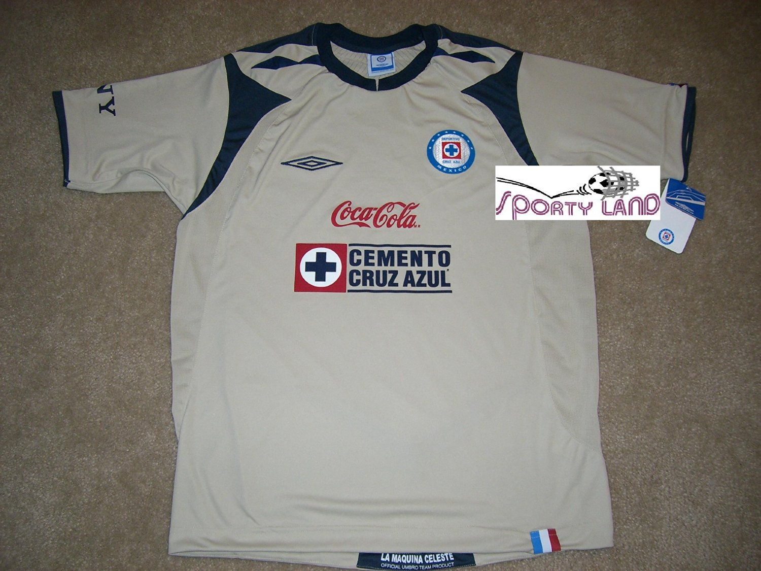 add53f3b8ff Get Quotations · Umbro Maquina Cruz Azul Away Soccer Jersey