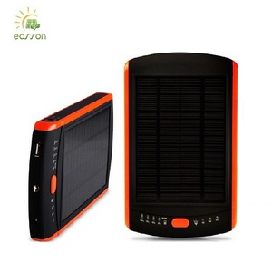 Shenzhen High Efficiency solar power bank 23000mah , power ban solar for very small mobile phone
