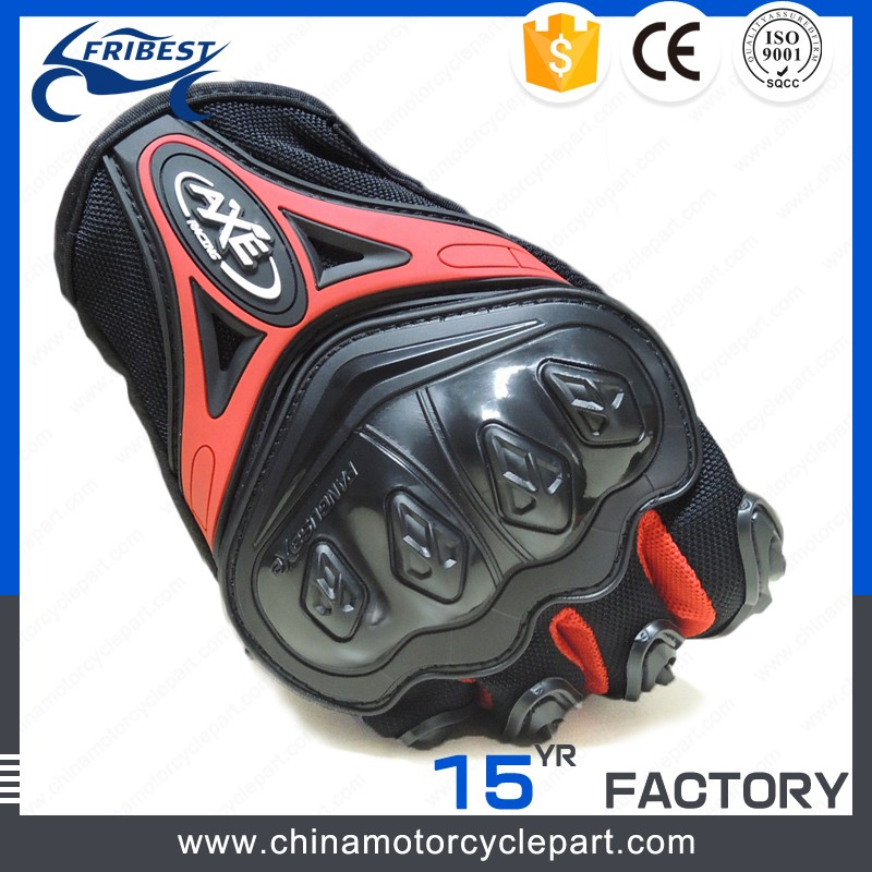 motorcycle gloves carbon fiber fox gloves metal finger glove